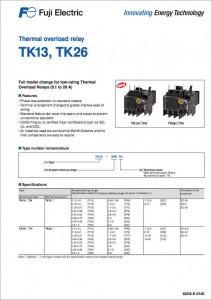 05 Thermal overload relay TK13, TK 16