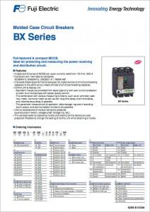 13 Molded Case Circuit Breakers BX SERIES