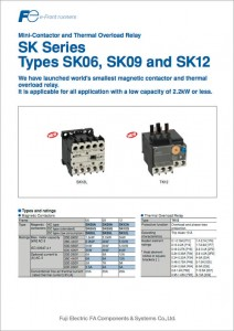 24 Mini-Contactor and Thermal Overload Relay SK SERIES