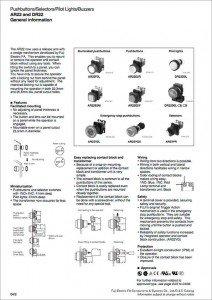 fuji electric - Command Switch